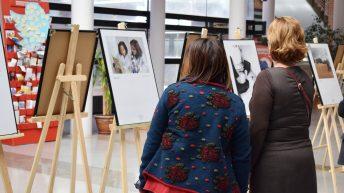 Apertura de la exposición © Gabinete de Comunicación UCLM