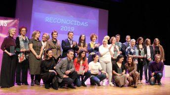 Foto de grupo de las premiadas © Gabinete de Comunicación UCLM