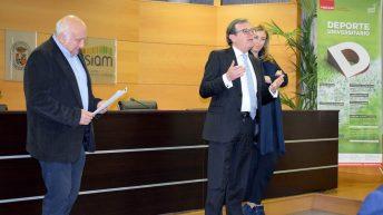 Reconocimientos del Trofeo Rector en el Campus de Albacete © Gabinete de Comunicación UCLM