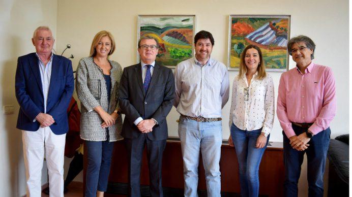 El convenio se ha firmado en el Campus de Albacete © Gabinete de Comunicación UCLM