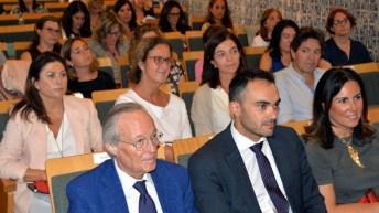 El exministro Josep Piqué ha dictado la conferencia inaugural. © Gabinete de Comunicación UCLM.