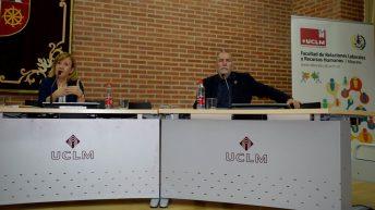 María José Romero junto a Joaquín Nieto © Gabinete de Comunicación UCLM