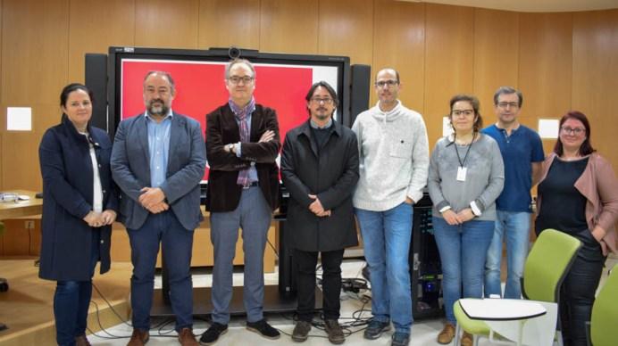Acto de presentación de resultados © Gabinete de Comunicación UCLM