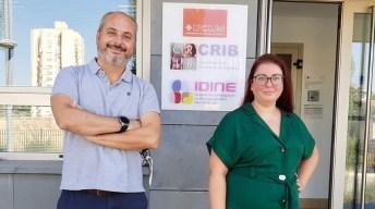 Alberto Ocaña y Eva Galan, directores del trabajo © Gabinete de Comunicación UCLM