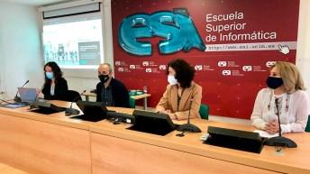 La web se ha presentado en la Escuela Superior de Informática de Ciudad Real © Gabinete de Comunicación UCLM