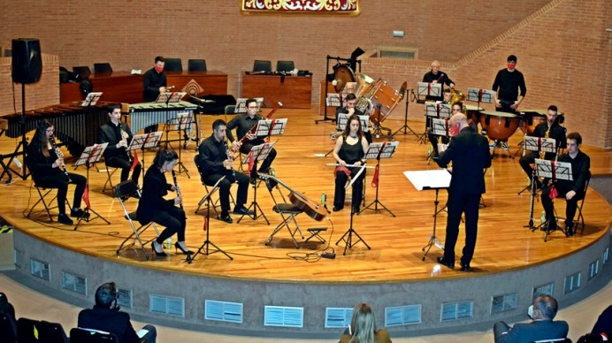 Concierto en el Paraninfo universitario. © Gabinete de Comunicación UCLM