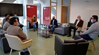 Reunión con el grupo de trabajo. © Gabinete de Comunicación UCLM
