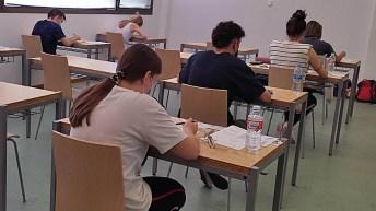 Comienza la EvAU de junio en la UCLM. © Gabinete de Comunicación UCLM