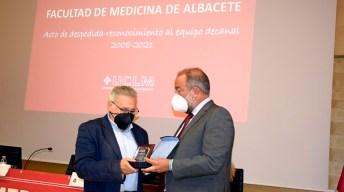Trece años al frente de la gestión de la Facultad de Medicina de Albacete © Gabinete de Comunicación UCLM