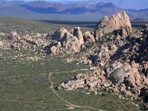 e side Granite Mtns, GMDRC Norris Camp area