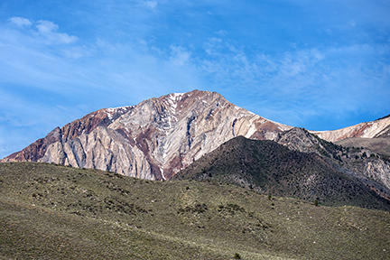 Mount Morrison is among the many scenic Sierra peaks located close to the reserve. Image credit: Susan Morning