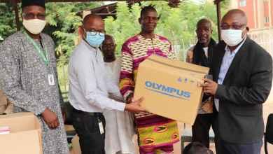 Photo of CSCOM of Dangassa: The ICEMR-Mali program donates analytical laboratory equipments