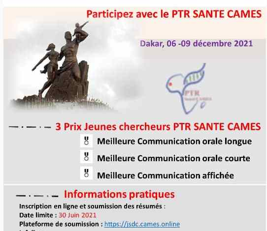 Photo of 5th Scientific Days of CAMES- Dakar 202: From 06 to 09 December 2021