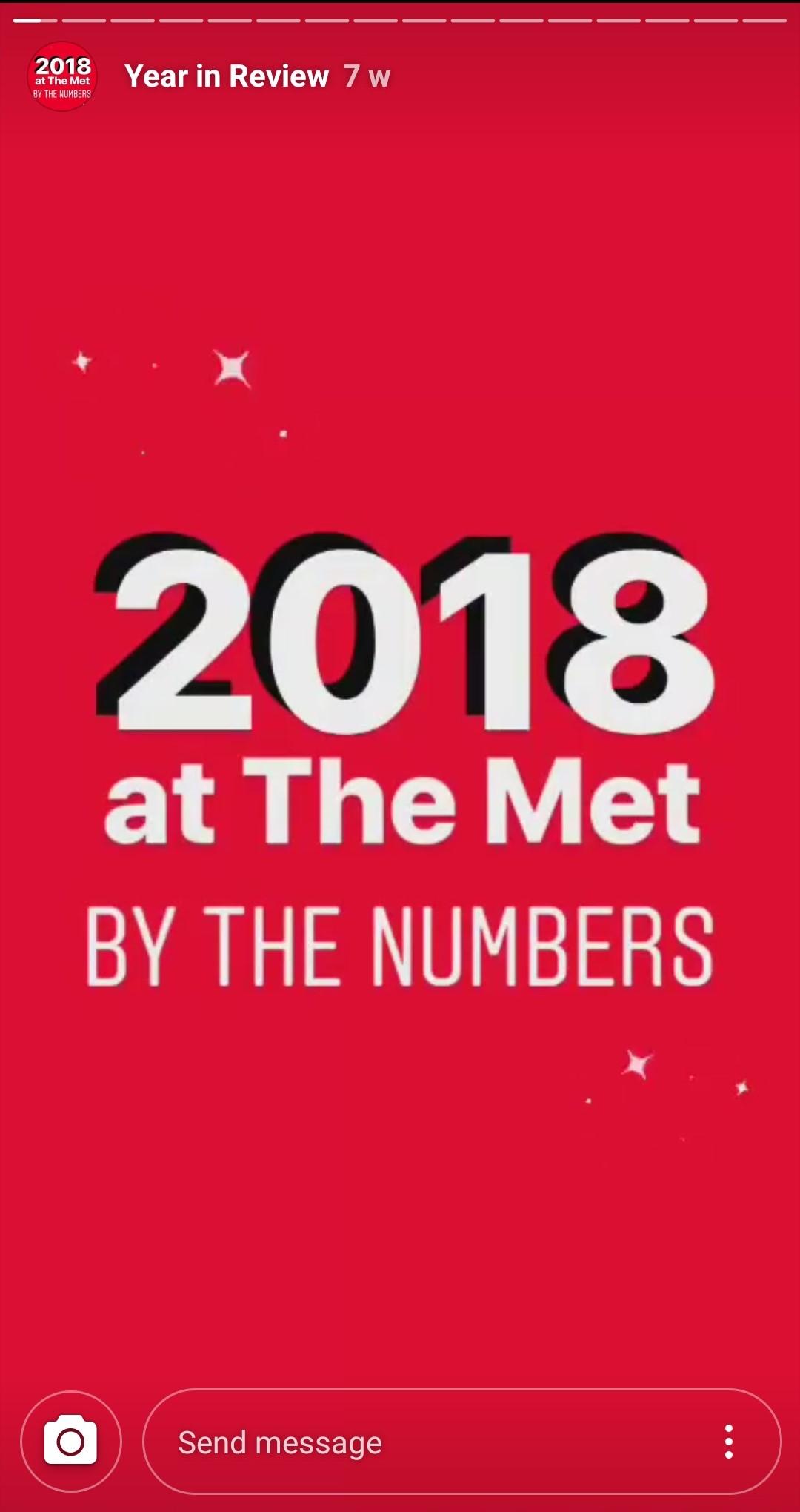 Met's 2018 numbers