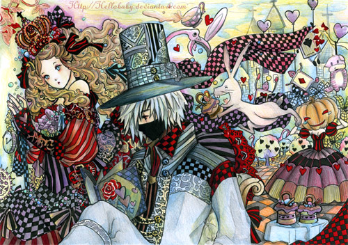 Alice Kakashi in Wonderland