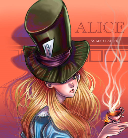 Alice as Mad Hatter