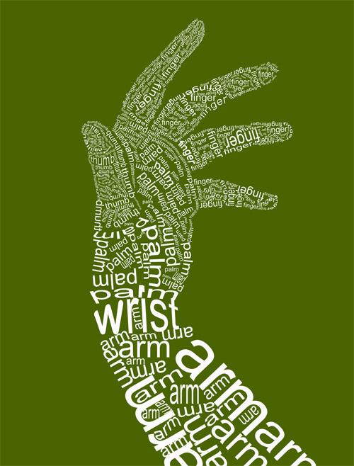 white hand type