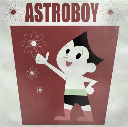 retro astro boy