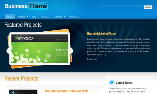 Corporate WordPress Themes - Business Theme