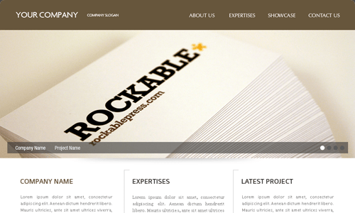 Corporate WordPress Themes - Design Agency