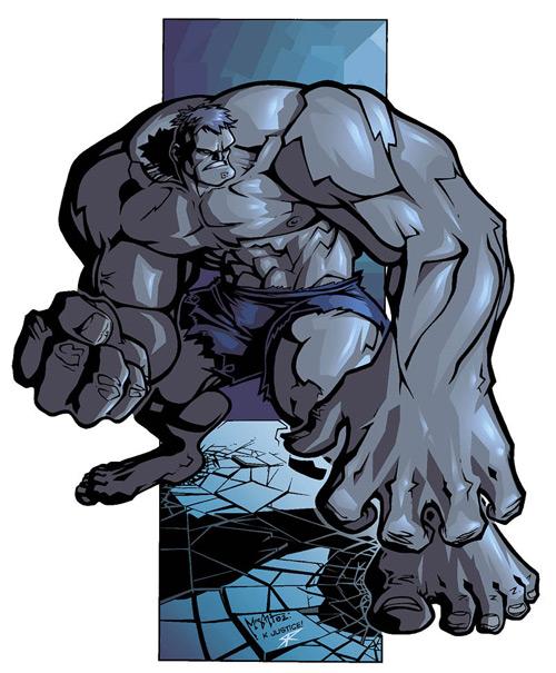 technicolor hulk