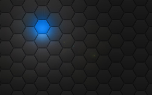 dark hexagon wallpaper