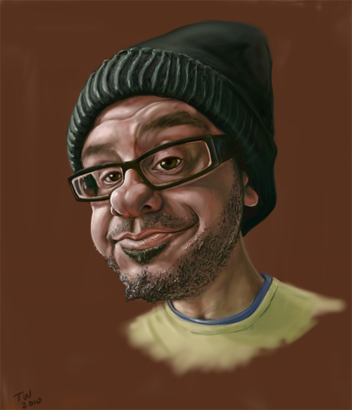 david cross caricature
