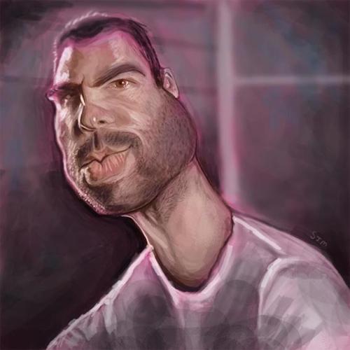 sylar caricature artwork