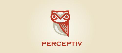 Bird Logos - Perceptiv Owl