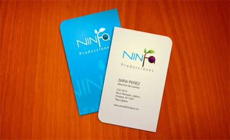 ninfa business card