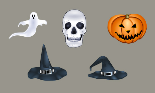 Halloween Icons - Halloween Art Icons