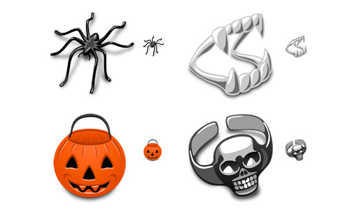Halloween Icons - Trick or Treat