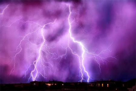 Photos of Lightning - Night Lights