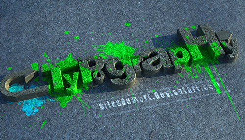 3d Typography Designs - Typographys