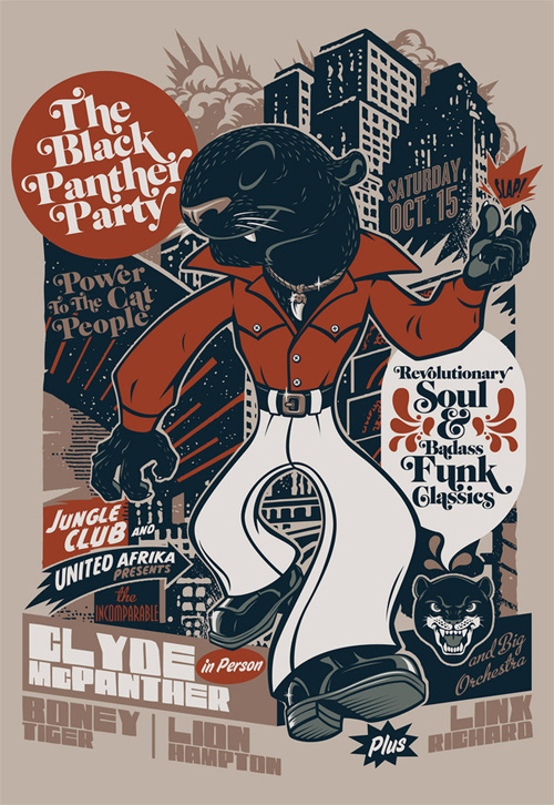 flyer design ideas the black panther party - Flyer Design Ideas