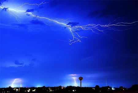 Photos of Lightning - Multiple Lightning Display