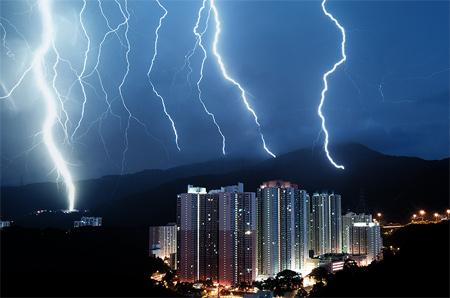 Photos of Lightning - Multiplicity