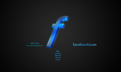 facebook icon wall
