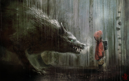 digital-painting-09-red-riding-hood