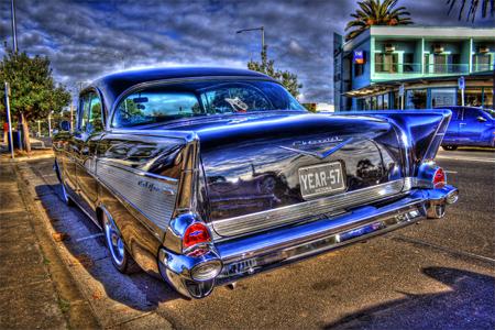 Vintage 1957 Chevrolet HDR