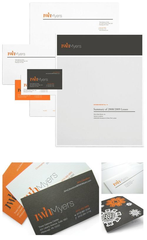 rwh myers stationery - Letterhead Design Ideas