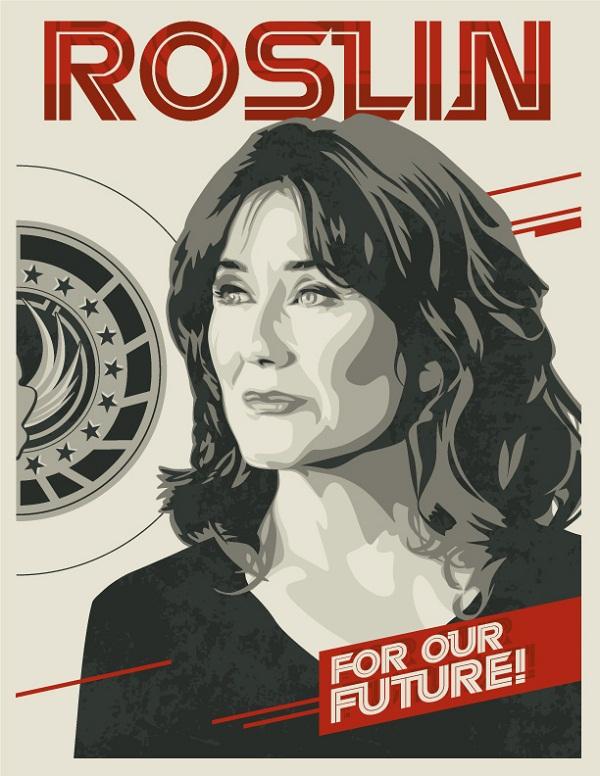 Battlestar Galactica Poster Art 01