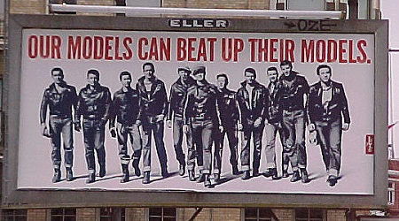 Vintage Levi's Billboard from Hotboots.com via YouTheDesigner.com
