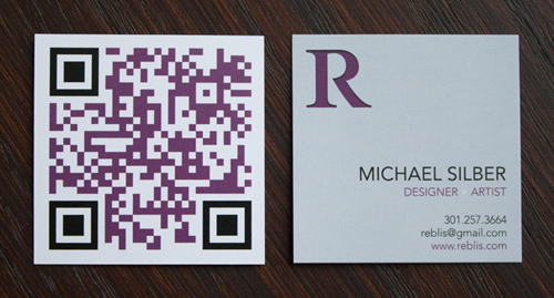 Michael Silber's business card