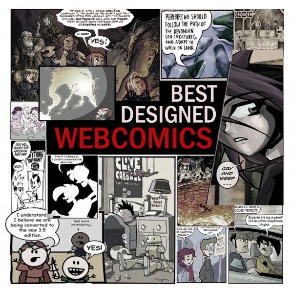 Best Designed Webcomics by YouTheDesigner