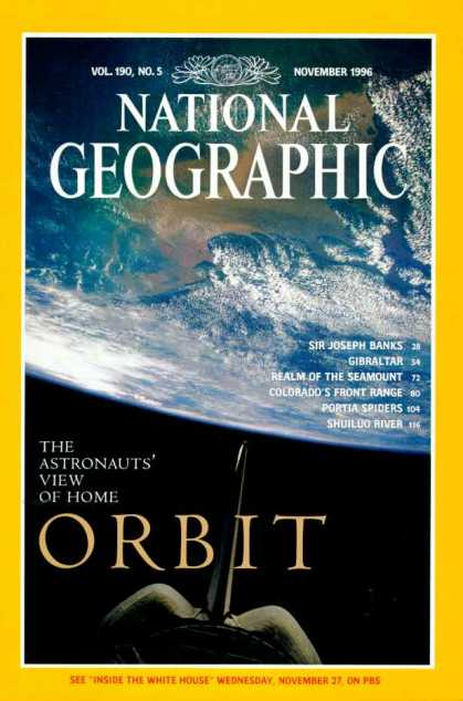 National Geographic November 1996 Issue via YouTheDesigner