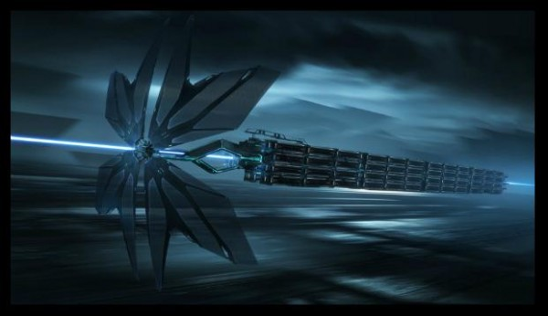 "Concept Art for ""Tron Legacy"" by Dylan Cole"