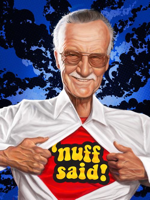 """""""Stan Lee"""" by Mark Hammermeister"""