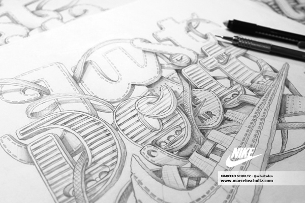 Nike Just Do It - Commissioned Artwork | Marcelo Schultz
