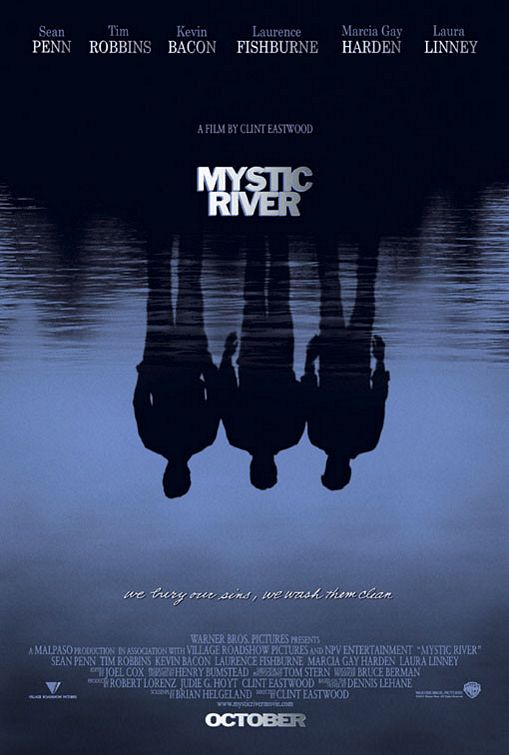 Mystic River poster design by Bill Gold